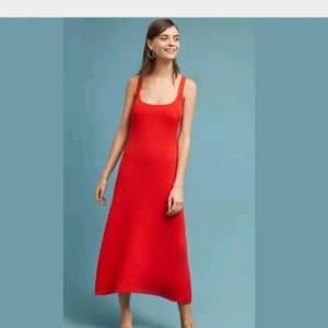 NWT Anthropologie Mara Hoffman Vita Midi Dress